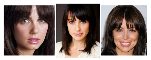 Mia Kirshner, Constance Zimmer, and Natasha Leggero look a lot alike.